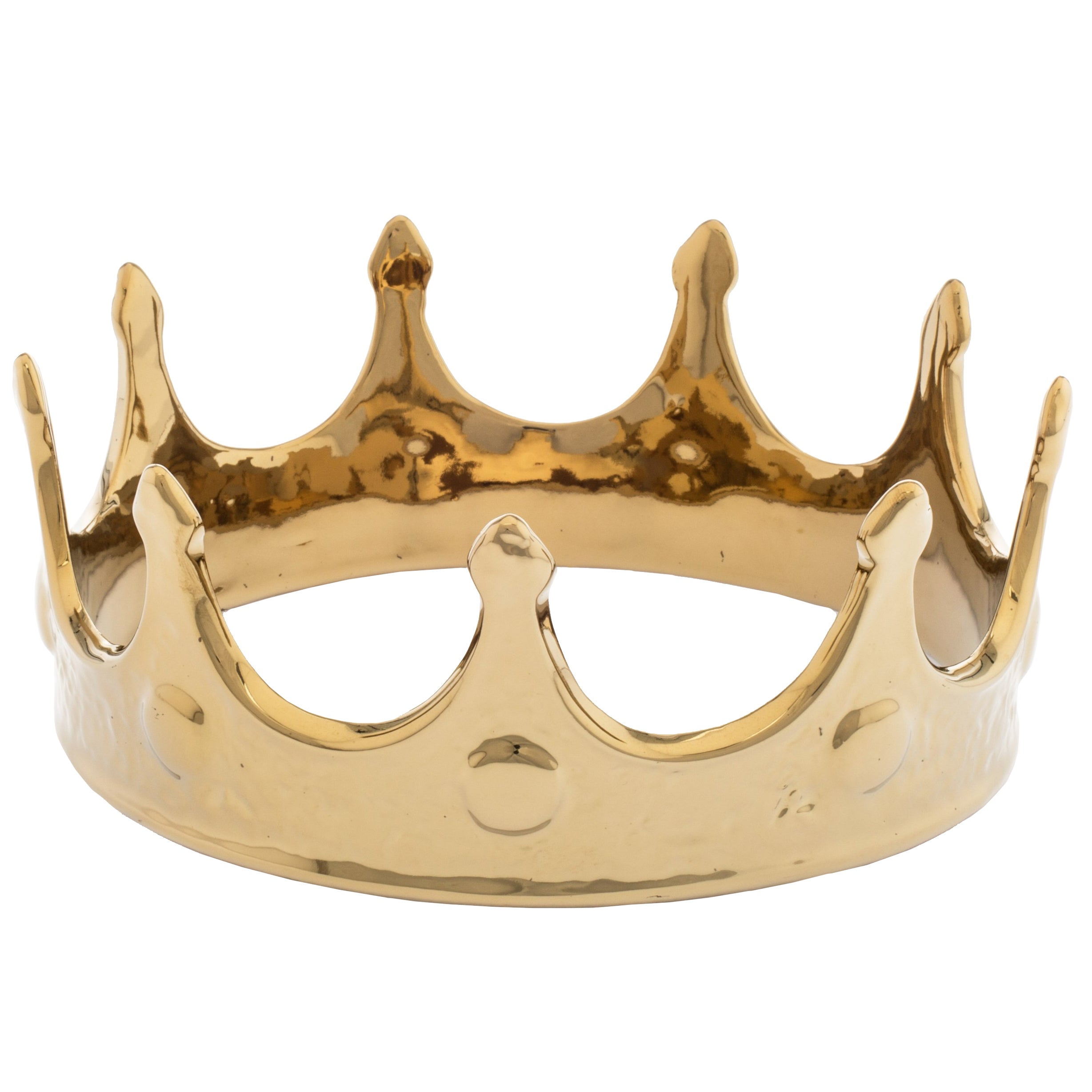 Gold Decorative Crown at 1stdibs