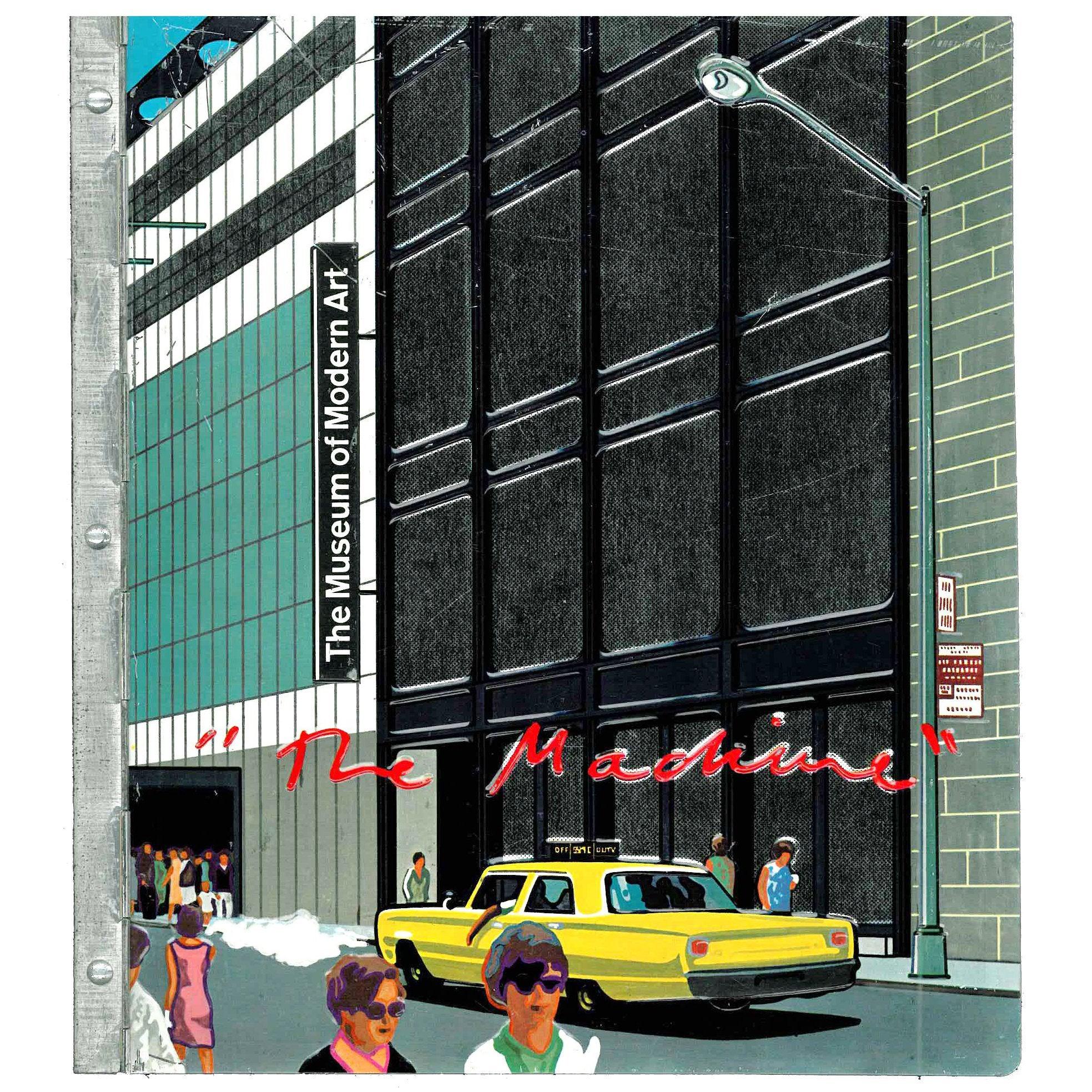 """""""Machine - the Museum of Modern Art New York"""" Book"""
