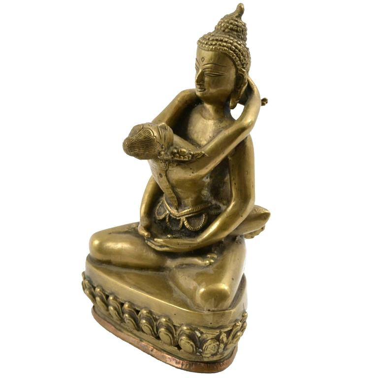Bronze Tibetan Yab-Yum Statue