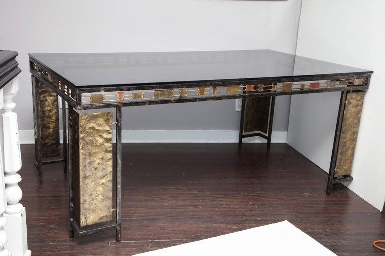 Vintage Brutalist Table Base by Silas Seandel For Sale 8
