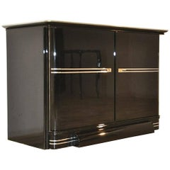 Black Art Deco Design Commode