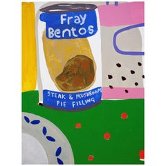 'Desperate Measures' Still Life Painting by Alan Fears Pop Art