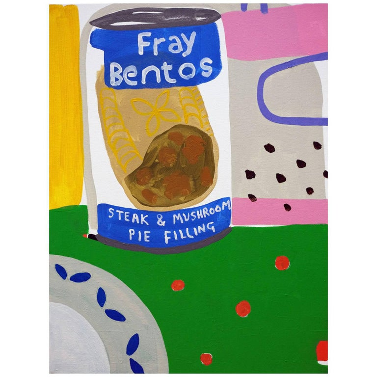 'Desperate Measures' Still Life Painting by Alan Fears Pop Art For Sale