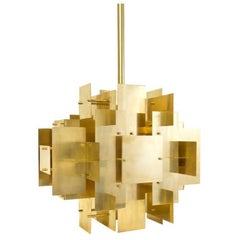 Puzzle Brass Chandelier
