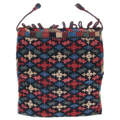 Antique Persian Kilim Bagface
