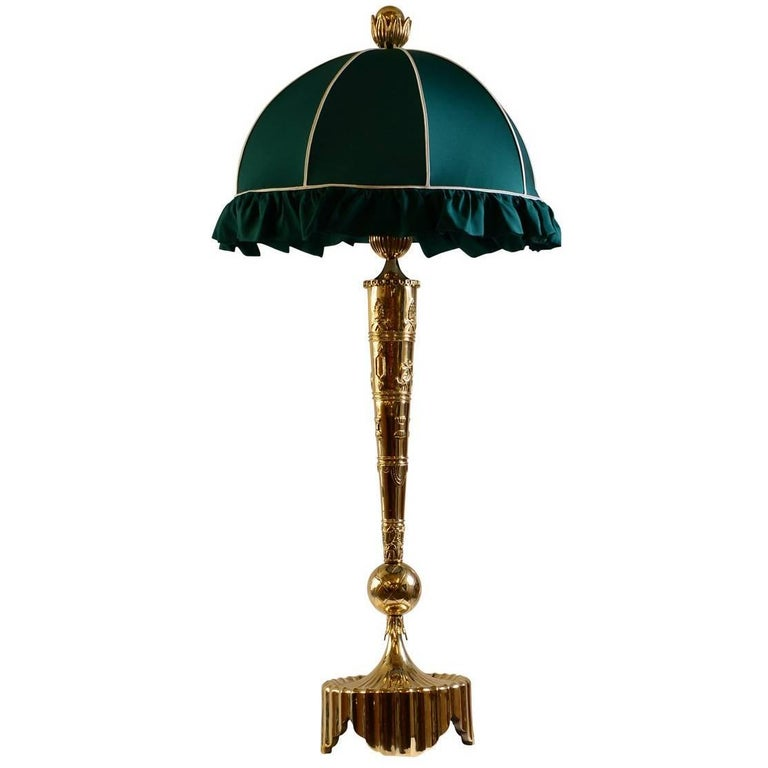 Dagobert Peche Table Lamp for the Wiener Werstaette by Woka Lamps Vienna