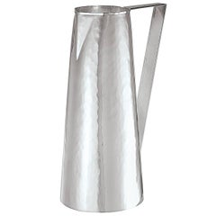 Small Hammered Pitcher