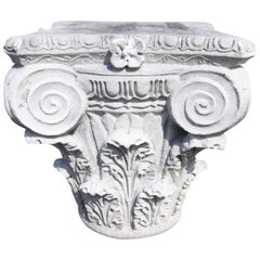 Corinthian Capital in Neoclassical Style, 21st Century