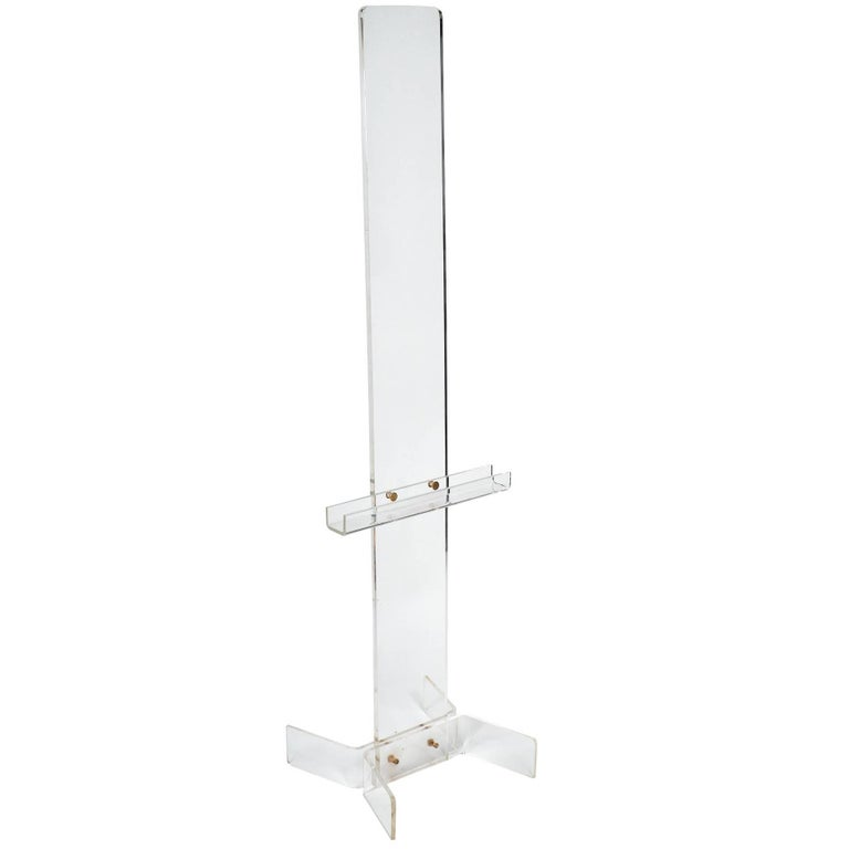 Vintage French Lucite Lectern