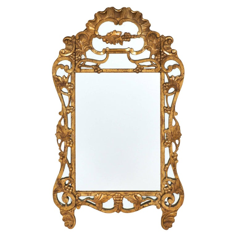 "Louis XIV Style French Antique ""Pareclose"" Mirror"