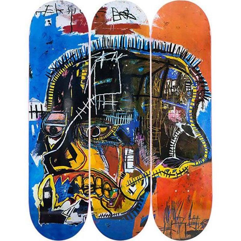 Skull Skateboard Decks by Jean-Michel Basquiat