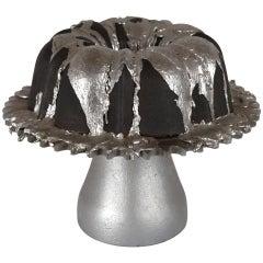 Cast Iron Bundt Cake Sculpture