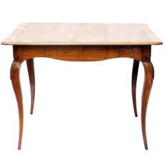 Art Nouveau Cherrywood Side Table