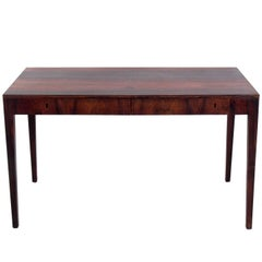 Danish Modern Rosewood Desk by Severin Hansen Jr.