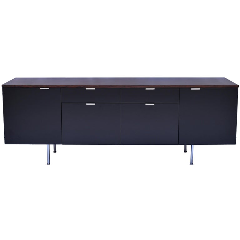 Exceptional Rare Custom Rosewood Executive Credenza by George Nelson