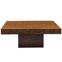 Square Wenge Coffee Table