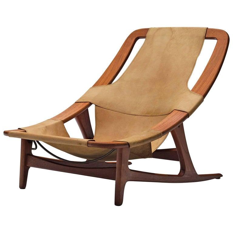 Arne Tidemand Ruud for Norcraft 'Holmkollen' Lounge Chair