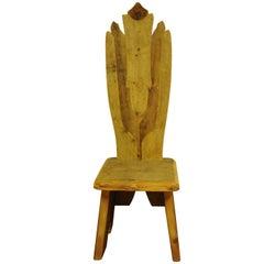 Flower Throne Chair
