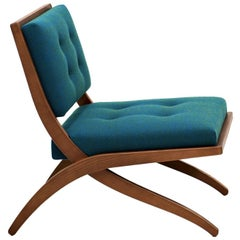 Bianca Pale Blue Chair by Franco Albini