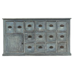 Antique French Haberdashery Cabinet