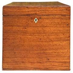 19th Century Jumbo English Tea Box