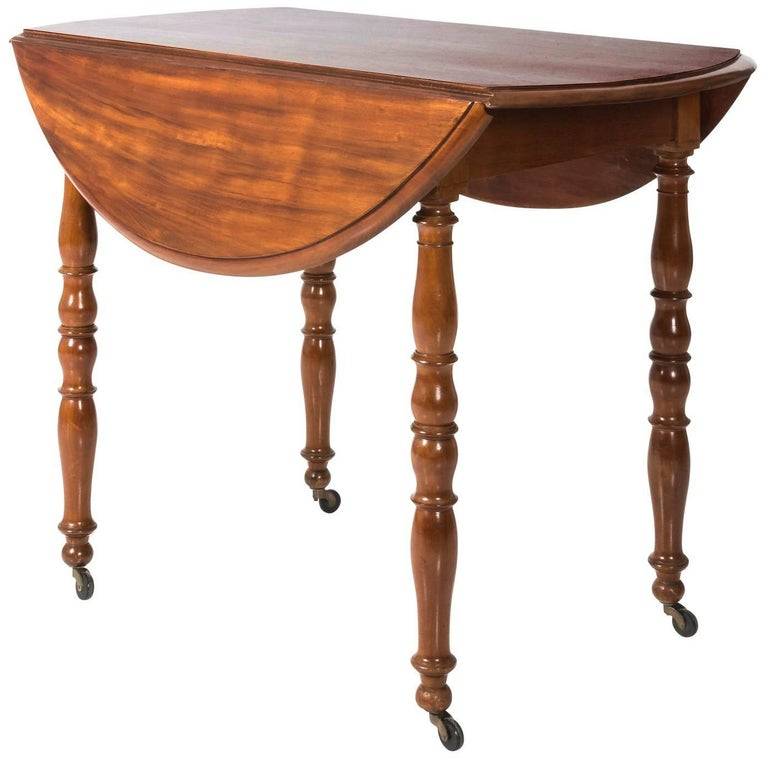 Cherrywood Drop-Leaf Table