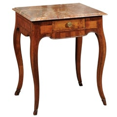 18th Century Italian Rococo Walnut Table
