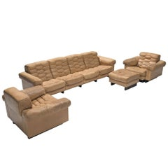 Robert Haussmann for De Sede Living Room Set