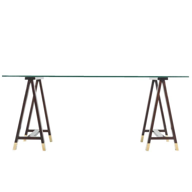 Trestle Table attributed to Arturo Pani