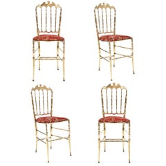 Four Vintage Chiavari Chairs