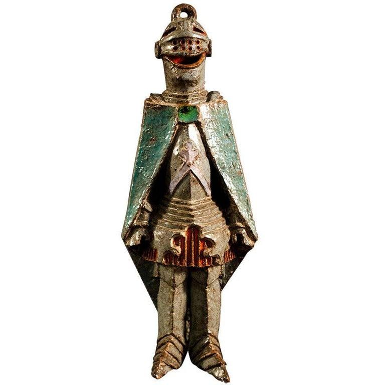 Italian Ceramic Statue For Sale