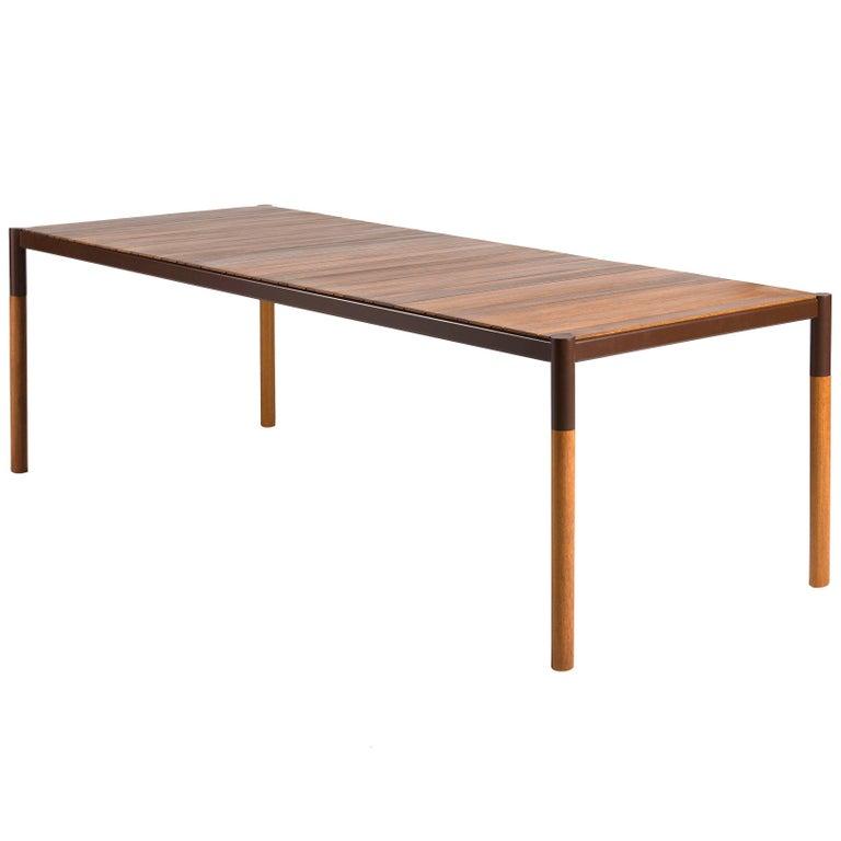 Minimalist Outdoor Dining Table