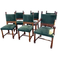 Set of Six Horner Style Chairs