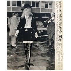 Vintage Brigitte Bardot Photo, circa Early 1970s