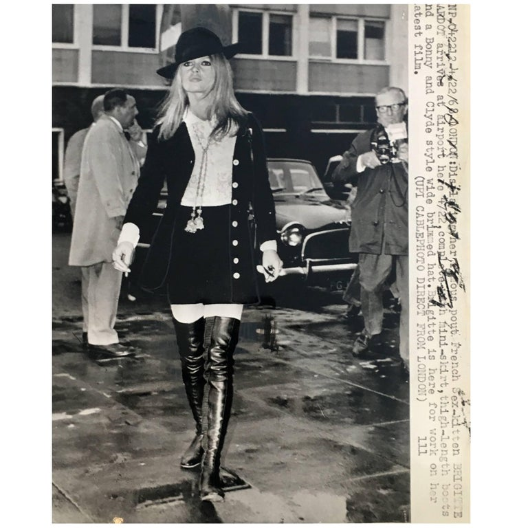 Vintage Brigitte Bardot Photo, circa Early 1970s For Sale