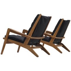 Pierre Guariche for Airborne Pair of Lounge Chairs