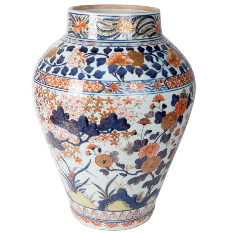 Large 18th Century Imari Vase For Sale At 1stdibs