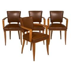 French Art Deco Bridge Chairs