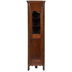 18th Century Louis XV Style Corner Cabinet