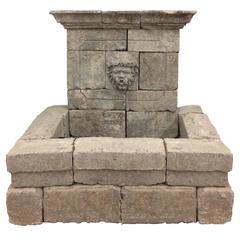 Limestone Bacchus Fountain, circa 2000