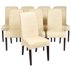 Leather Italian Dining Chairs