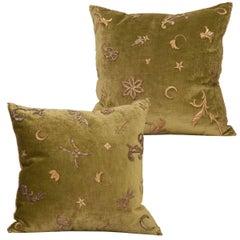 Antique Textile Pillows by B.Viz Design