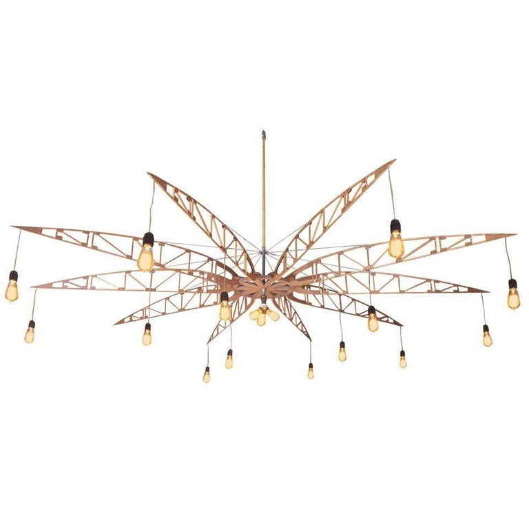 Airplane Truss Chandelier For Sale