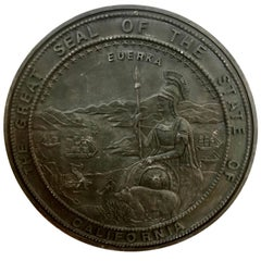 Fiberglass California State Seal