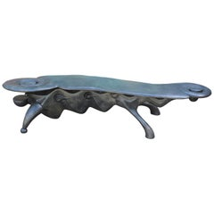 Sculptural Bronze Bench by Gil Bruvel