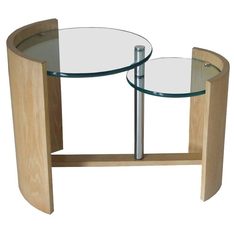 Jay Spectre Occasional Two Level Table For Sale