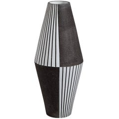 Palm Springs Giant 'Harlequin' Stoneware Vase
