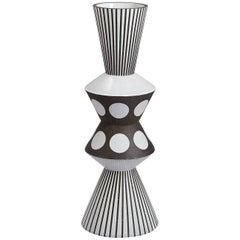 Palm Springs Giant 'Bowtie' Stoneware Vase