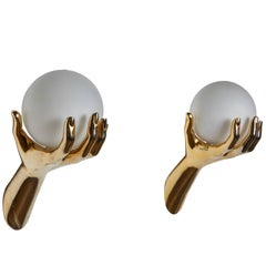 Pair of Sconces by Maison Arlus