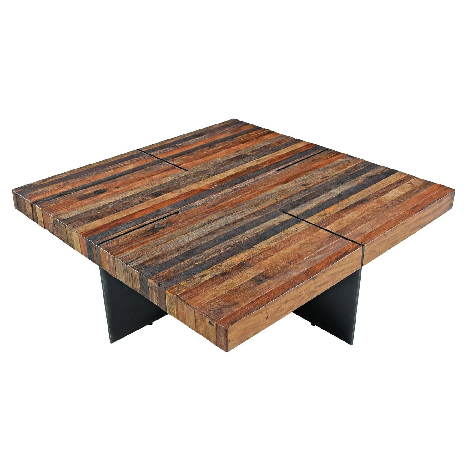 Thomas Bina For Rochdale Spears Contemporary Patchwork Coffee Table For